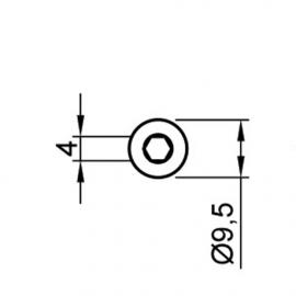 Конфирмат 6,4х50 мм (FU0004)